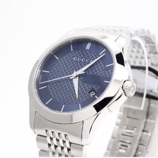 Gucci - 【GUCCI】グッチ腕時計 'Gタイムレス' ブルー文字盤 ☆新品未使用品☆