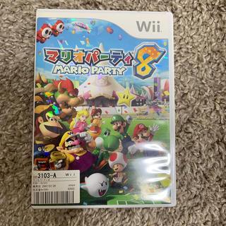 ニンテンドウ(任天堂)のマリオパーティー8 wiiソフト(家庭用ゲームソフト)