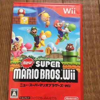 ウィー(Wii)のNew スーパーマリオブラザーズ Wii(家庭用ゲームソフト)