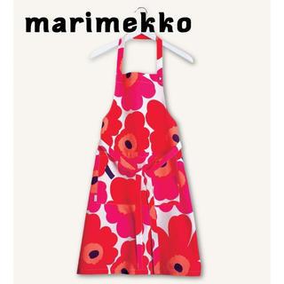 marimekko - 新品 marimekko マリメッコ エプロン ウニッコレッド