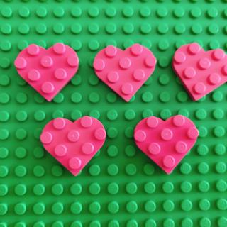 Lego - LEGO ハートパーツ5個
