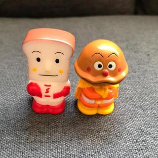 アンパンマン(アンパンマン)のカレーパンマン 食パンマン/指人形 ソフビ フィギュア(キャラクターグッズ)