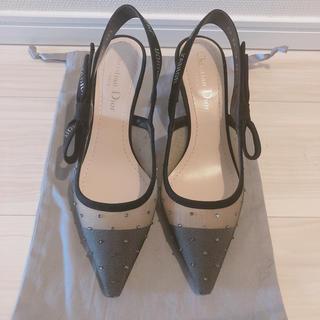 Christian Dior - 新品未使用 ディオール Dior J'ADIOR リボンパンプス