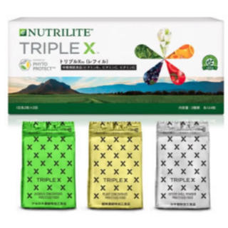 トリプルX(レフィル) 2箱(ビタミン)