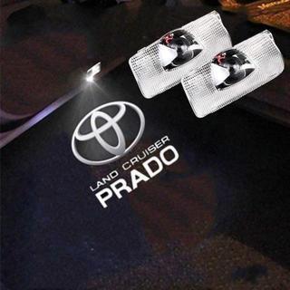 トヨタクラウンカーライト 簡単取り付け トヨタ プラド用 150系 CREE社製(タイヤ)