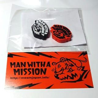 マンウィズアミッション(MAN WITH A MISSION)のMWAM ケーブルマスコット タナカカラー ガウポン(ミュージシャン)