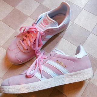 adidas - オリジナルス ガゼル  パステルピンク