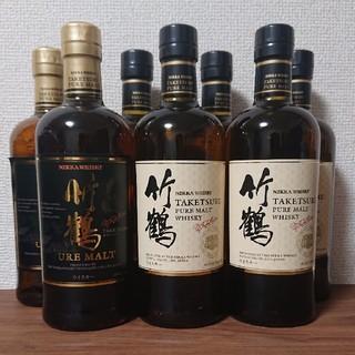 ニッカウイスキー(ニッカウヰスキー)のニッカウヰスキー 竹鶴 ピュアモルト 7本(旧竹鶴 2本 & 新竹鶴 5本)(ウイスキー)