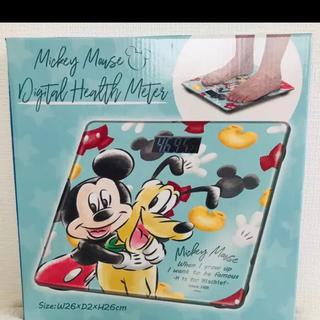 ディズニー(Disney)のディズニー デジタルヘルス メーター ( ミッキー & プルート ) 体重計(体重計)