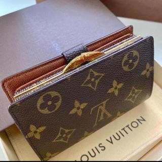 ルイヴィトン(LOUIS VUITTON)の極美品 正規品ルイヴィトン ガマ口 折財布(財布)