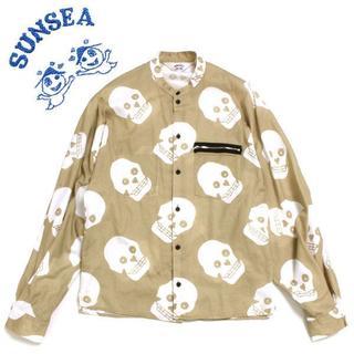 サンシー(SUNSEA)の19SS SUNSEA KEEF'S BOMBER SHIRT スカル(シャツ)