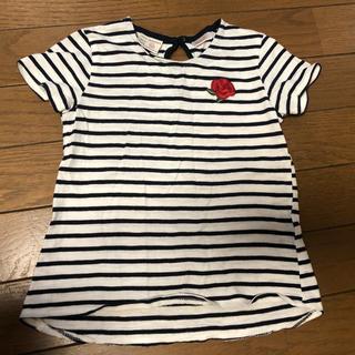 ザラ(ZARA)のZARA ザラベビー ボーダーTシャツ 2枚セット 3/4Y  104(Tシャツ/カットソー)