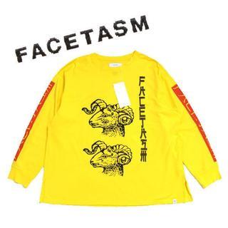 FACETASM - 18年 FACETASM LONG TEE ロゴロンTシャツ ファセッタズム