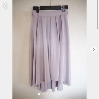 ナイスクラップ(NICE CLAUP)のフレアスカート 膝丈スカート(ひざ丈スカート)