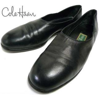 コールハーン(Cole Haan)のイタリア製 COLE HAANコールハーンスリッポン (24-24.5cm(ローファー/革靴)