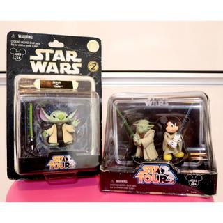 ディズニー(Disney)の海外 ディズニー STARWARS スターウォーズ ヨーダ&ミッキー スティッチ(SF/ファンタジー/ホラー)