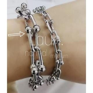 Drawer - j297.Tiffany link bracelet(silver)