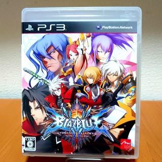 プレイステーション3(PlayStation3)のPS3ソフト「ブレイブルー クロノファンタズマ」説明書付(家庭用ゲームソフト)
