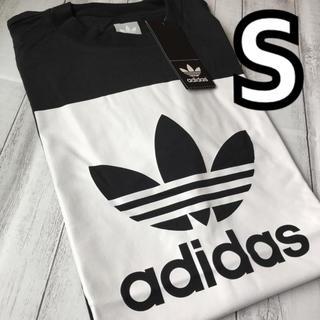 アディダス(adidas)の最終お値下げ♡新品/adidas♡ビッグロゴTシャツ/男女兼用Sサイズ(Tシャツ(半袖/袖なし))