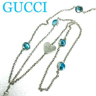 グッチ(Gucci)の本日価格☆正規品☆GUCCI ブルートパーズ ネックレス(ネックレス)