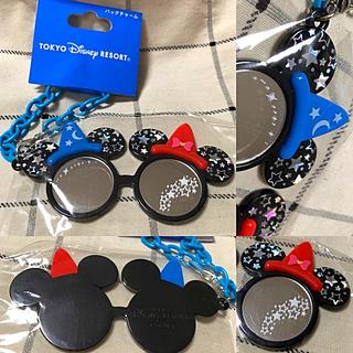 ディズニー(Disney)のTDR⭐️ミッキー&ミニー❤️サングラス型バッグチャーム❣️ディズニー⭐️(キャラクターグッズ)