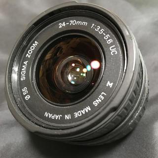 シグマ(SIGMA)のシグマ SIGMA レンズ 24-70mm 1:3.5-5.6(レンズ(ズーム))
