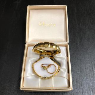 ジュエリーマキ(ジュエリーマキ)のベビーリング⭐️指輪⭐️18金 ペンダントトップ(リング(指輪))