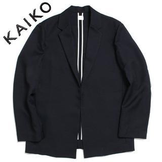 20SS KAIKO BUTTONLESS JACKET ボタンレス ジャケット(テーラードジャケット)