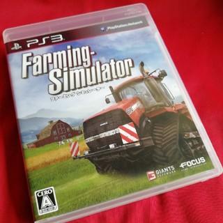 プレイステーション3(PlayStation3)のPS3 ファーミング シミュレーター(家庭用ゲームソフト)