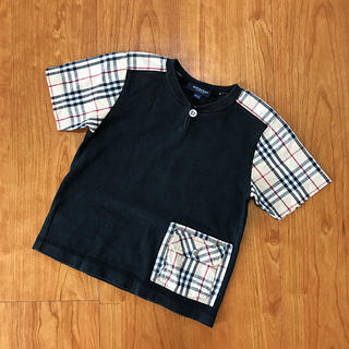 BURBERRY - BURBERRY LONDON    Tシャツ チェック 100