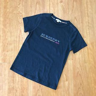 バーバリー(BURBERRY)の超美品 BURBERRY    Tシャツ ブラック 140(Tシャツ/カットソー)