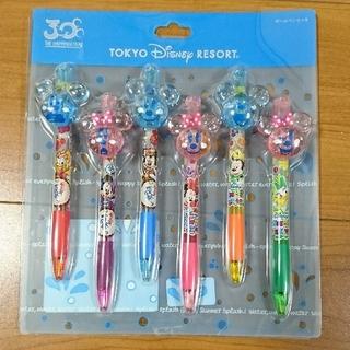 Disney - 新品未使用品 ディズニー30周年 summer ボールペン6本セット