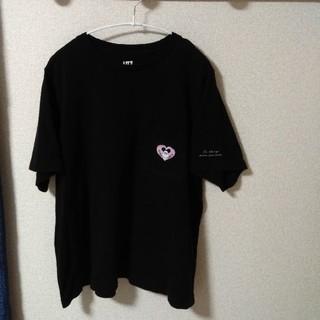 ユニクロ(UNIQLO)の【ユニクロ】ミッキー半袖ブラック(Tシャツ(半袖/袖なし))