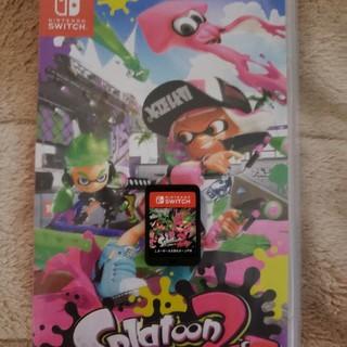 ニンテンドースイッチ(Nintendo Switch)の任天堂スイッチ スプラトゥーン2 Switch ソフトのみ(家庭用ゲームソフト)