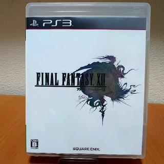 プレイステーション3(PlayStation3)のファイナルファンタジーXIII 8 PS3ソフト(家庭用ゲームソフト)