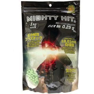 Sabsta MIGHTY HIT 生分解性 バイオ BB弾 0.25g 400(エアガン)