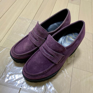 ジュエティ(jouetie)のjouetie 厚底 ヒール ローファー Mサイズ(ローファー/革靴)