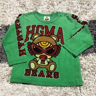 ヒステリックミニ(HYSTERIC MINI)のヒスミニ ロンティー サイズ80(Tシャツ)