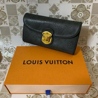 ルイヴィトン(LOUIS VUITTON)の美品! LOUIS VUITTON ルイヴィトン マヒナ アメリア 長財布(財布)