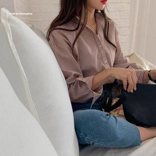 アウラアイラ(AULA AILA)の未使用 チェックシャツ レディーストップス DHOLIC 韓国ファッション(シャツ/ブラウス(長袖/七分))