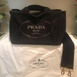 PRADA - 大人気PRADAプラダ/CANAPAカナパ/ブラック