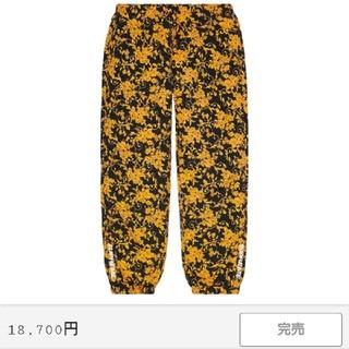 Supreme - Supreme Warm Up Pant サイズS ブラックフローラル
