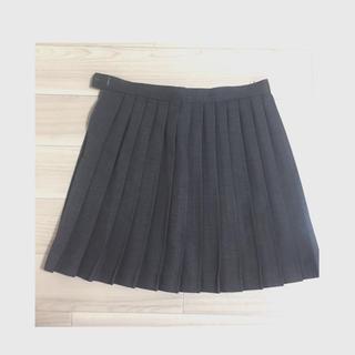 【美品】制服 プリーツスカート グレー コスプレにどうぞ!