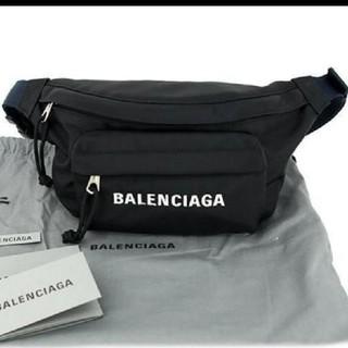 バレンシアガ ウエストポーチ ヒップバッグ ウィールベルトバッグ 黒