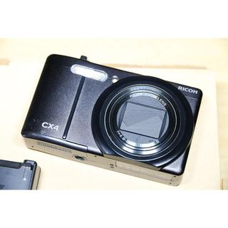 RICOH - RICOH デジタルカメラ CX4 ブラック CX4BK