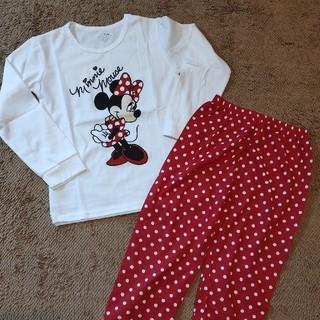 Disney - ②新品★ディズニー ミニーちゃん パジャマ上下 130