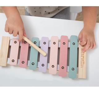 ボンポワン(Bonpoint)のリトルダッチ little dutch 木琴 ピンク(知育玩具)