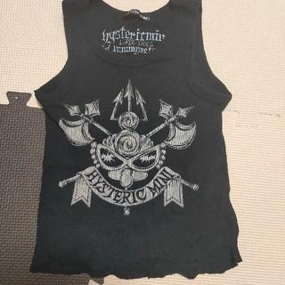 ヒステリックミニ(HYSTERIC MINI)のヒステリックミニ タンクトップTシャツ 100サイズ(Tシャツ/カットソー)