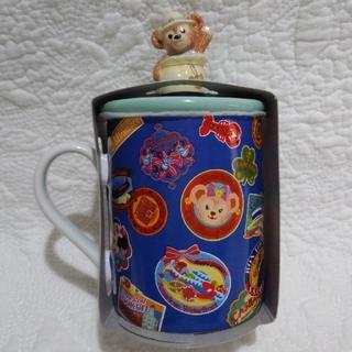 ダッフィー(ダッフィー)のpooh-mam様専用 SPRING VOYAGE ダッフィーのカップ(蓋付き)(食器)