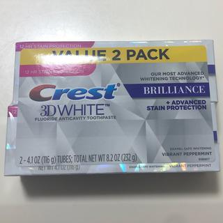 Crest - クレスト crest  ホワイトニング ハワイ 歯磨き粉 2本セット 新品未使用
